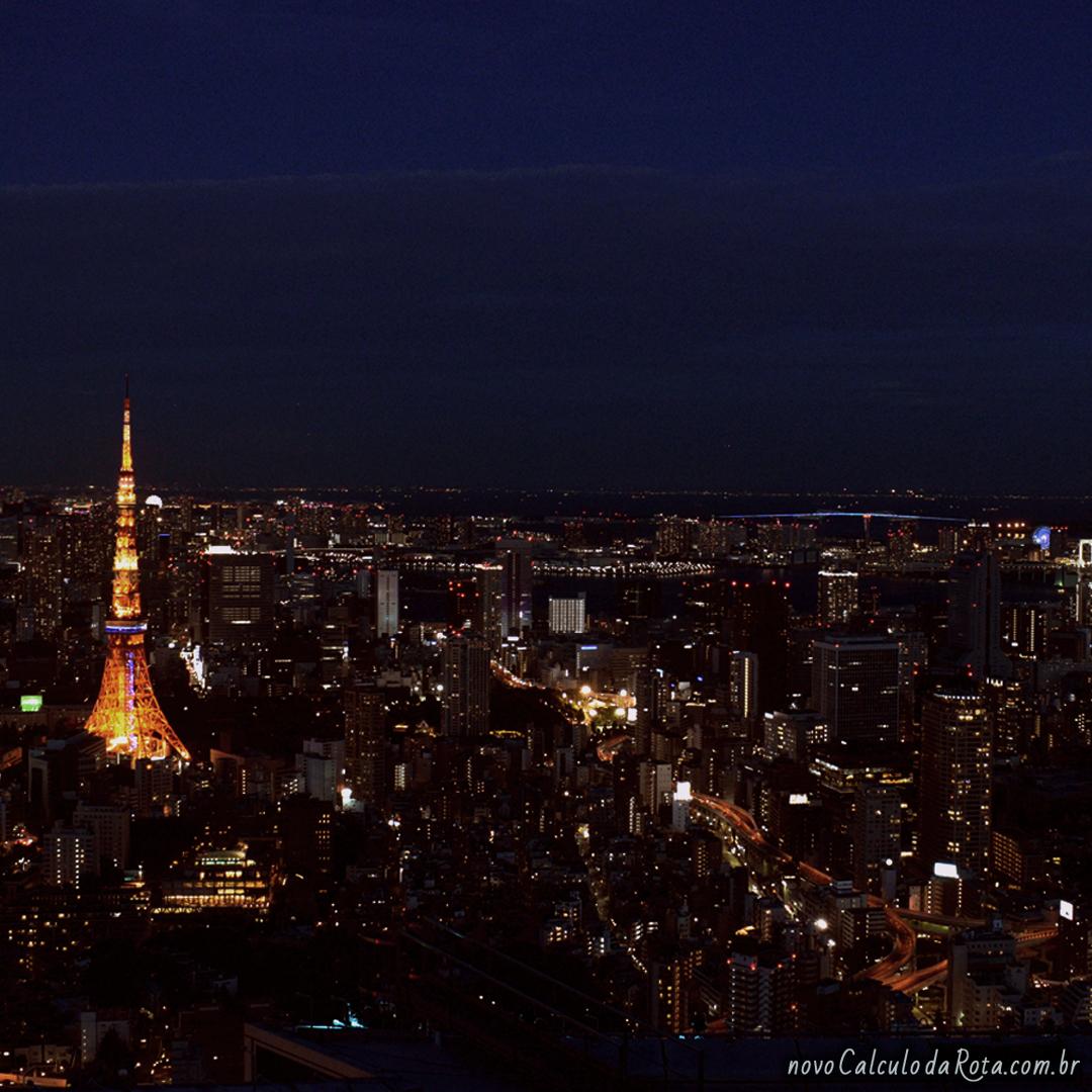 Roppongi Hills Tokyo City View E Sky Deck Viagens Novo Calculo Da Rota